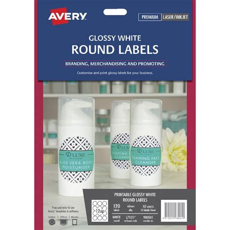 Avery Clear Stickers Kamos Sticker Avery 4397 Template