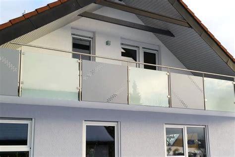 Balkongeländer Glas by Balkongel 228 Nder Edelstahl Glas