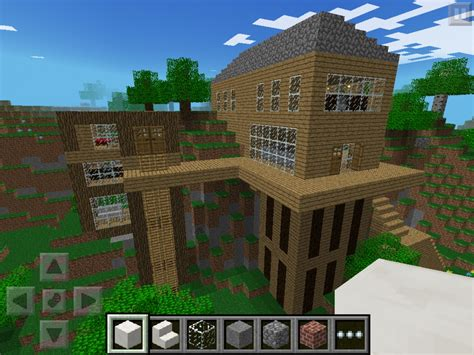 House Design In Minecraft Pe Minecraft Pe Modern House Plan