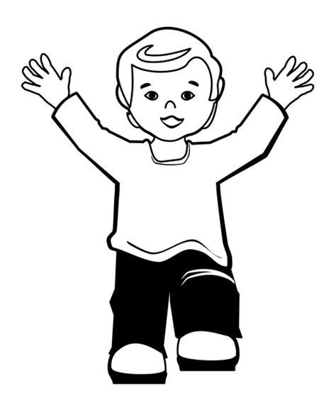kid clipart black and white school children clipart black and white clipart panda