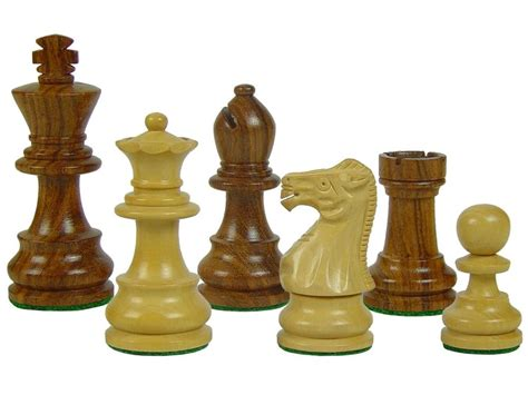 unique chess set wooden chess set pieces unique staunton king size 3 quot 2