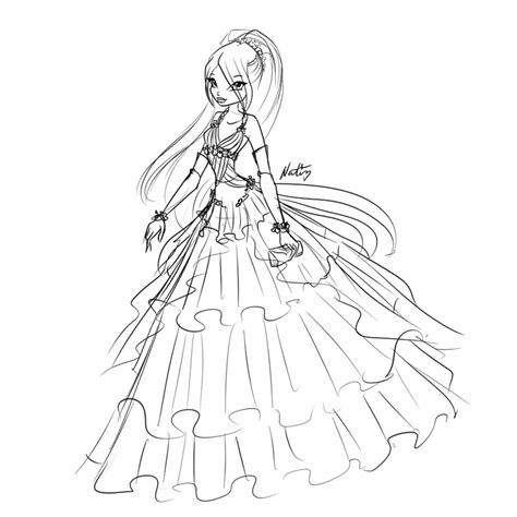 coloring pages ball gowns ball gown coloring pages alltoys for