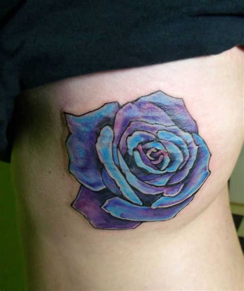 37 exclusive blue rose tattoos and designs