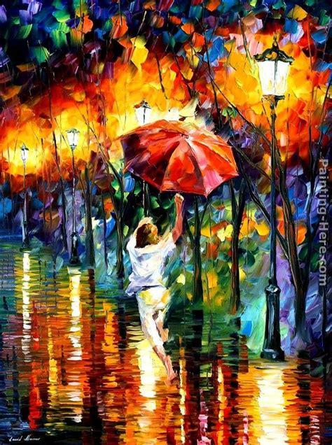 umbrella painting leonid afremov umbrella painting best umbrella