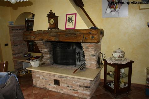camino artigianale camino rustico da taverna negretto camini d autore