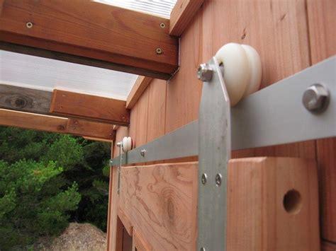 Sliding Barn Door Wheels Diy Sliding Barn Doors From Skateboard Wheels Your Projects Obn