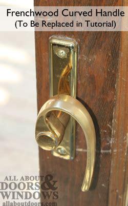 andersen 400 series door lock how to install andersen gliding door handleset and lock