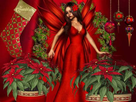 christmas fairy fantasy fan art 9462362 fanpop