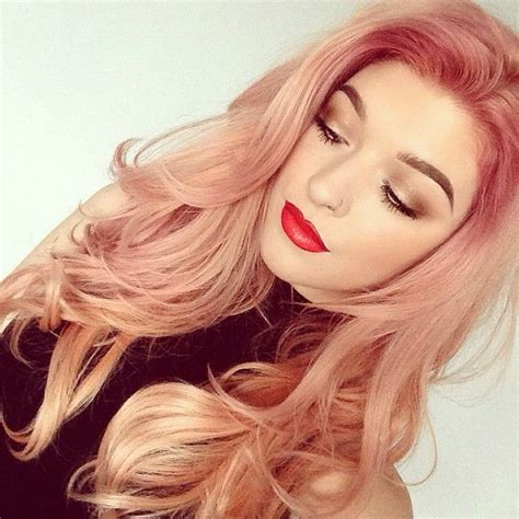 tono de cabello 2016 la moda en tu cabello tono de pelo oro rosado oto 241 o