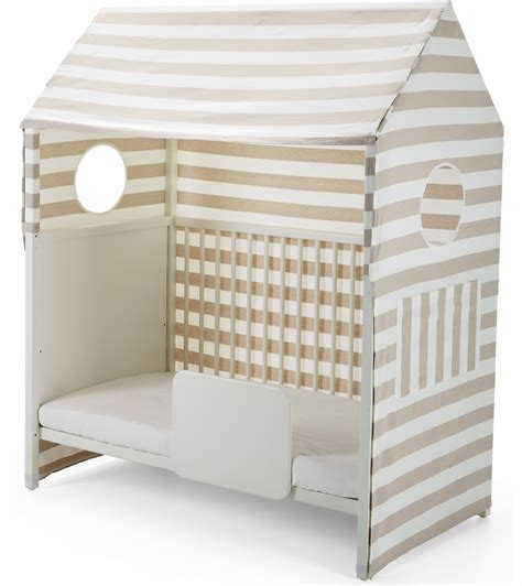Crib Tents For Sale by Stokke Home Crib Tent Beige Stripe
