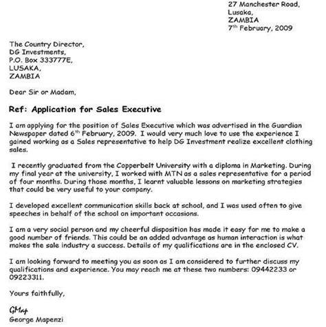 write application letter nigeria