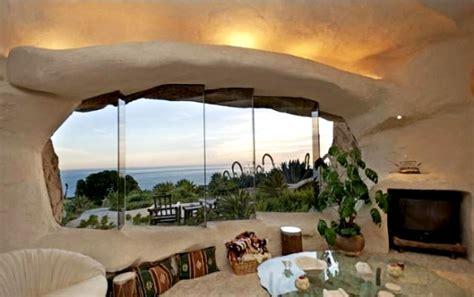 dick clark flintstone house photos dick clark s epic bedrock style cave house in malibu