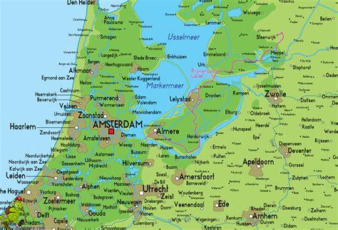 giethoorn netherlands map pionierspad