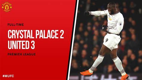 epl highlights reddit download video crystal palace 2 vs 3 manchester united