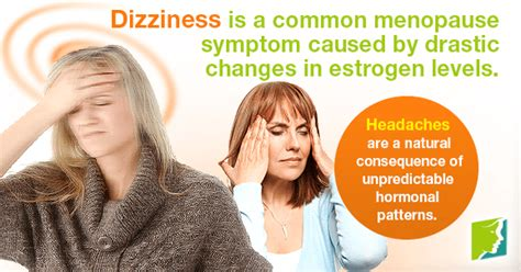 perimenopause symptoms dizziness and vertigo are dizziness and daily headaches normal during menopause