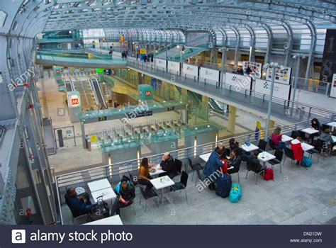 torino porta susa centrale cafe inside porta susa metro and railway station central