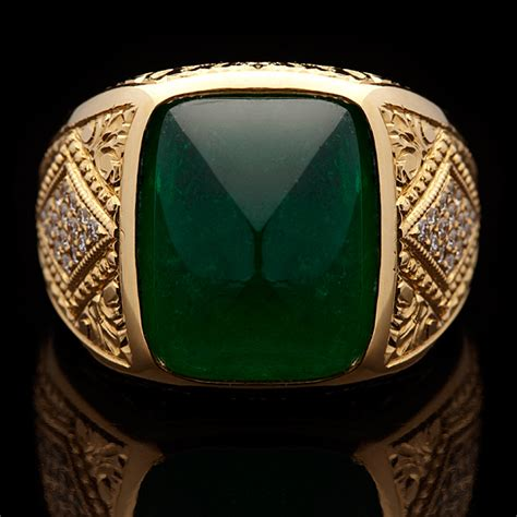 the gallery for gt emerald ring for