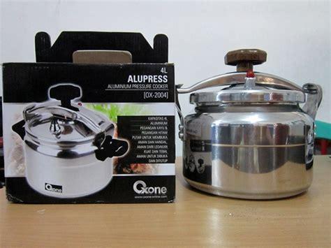 Panci Presto Ukuran Sedang panci masak presto oxone termurah ready ukuran 4 8 12 20 liter murah