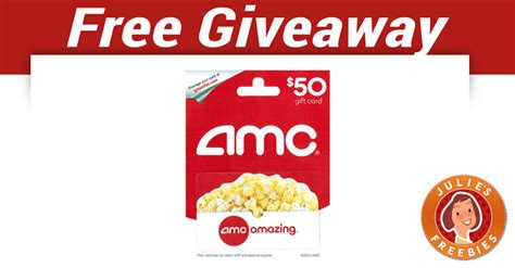 Where To Get Amc Gift Cards - amc gift card julie s freebies