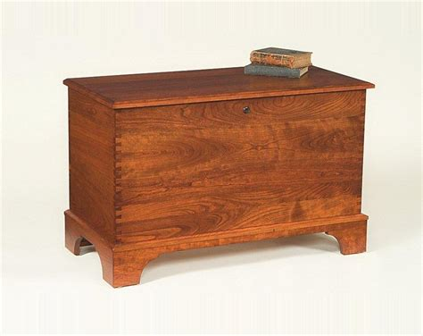 bedroom storage chest amish cherry furniture storage chest with shaker base