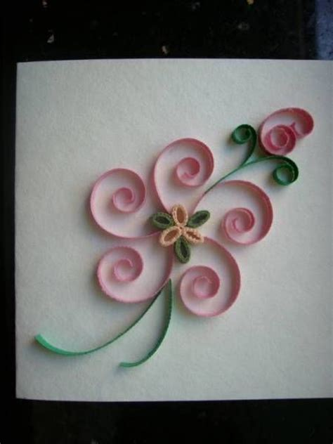 Paper Quilling Flower - scrolls flower 2 quilled creations quilling gallery