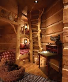 Log Cabin Bunk Beds Cabin Bunk Beds Home Design