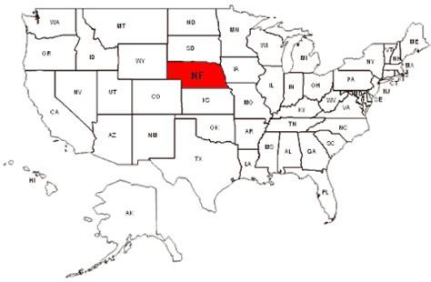 map us nebraska nebraska maps and data myonlinemaps ne maps