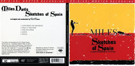 Sketches Of Spain by Sketches Of Spain Mfsl Hybrid Sacd
