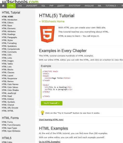 html tutorial url web develpoment archives pchow2 net