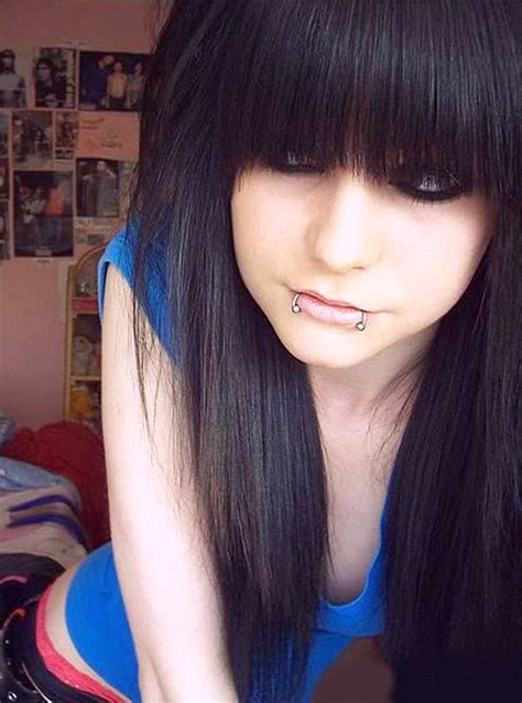 scene haircuts for thin hair girls emo hairstyles for girls the xerxes