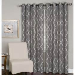 Single Window Curtain Elrene Home Fashions Medalia Single Window Curtain Panel