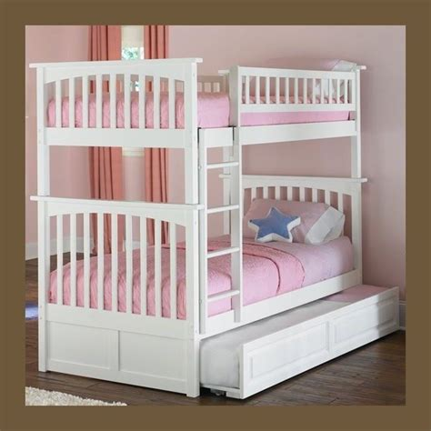 bunk beds for girls bunk beds for kids twin over twin white girls and