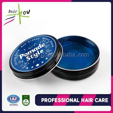 Jual Pomade Edge Wax label edge water soluble hair styling pomade 100ml oem odm wax hair