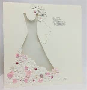 wedding dress card handmade cards pinterest dress