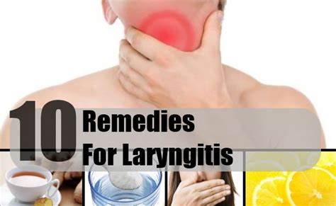 10 trustworthy remedies for laryngitis