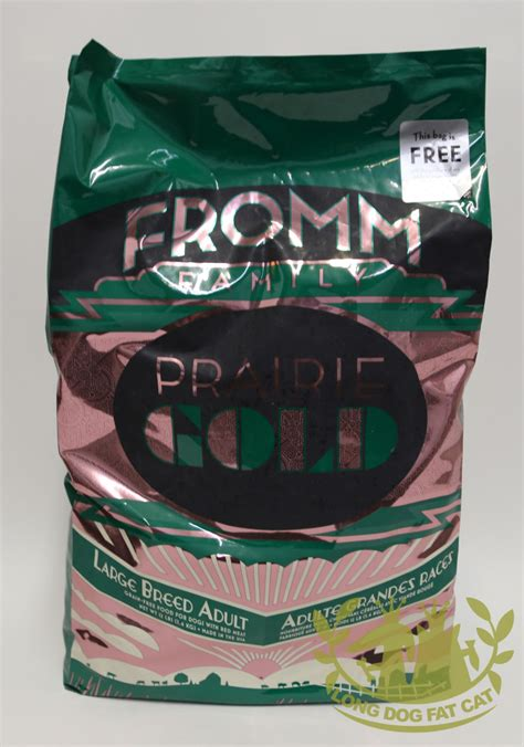 fromm gold large breed puppy fromm prairie gold large breed foodlong cat