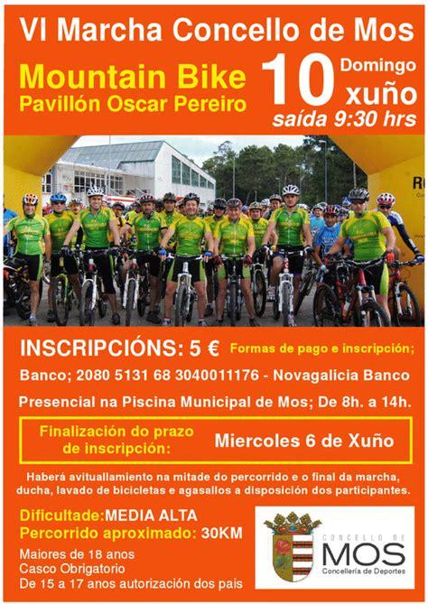 pabellon oscar pereiro club ciclista aragonta vi marcha concello de mos