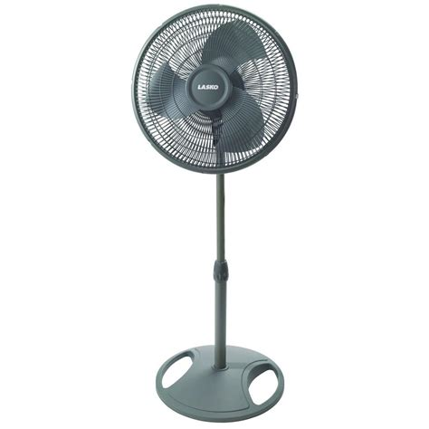 stand up oscillating fan lasko adjustable height 16 in oscillating pedestal fan