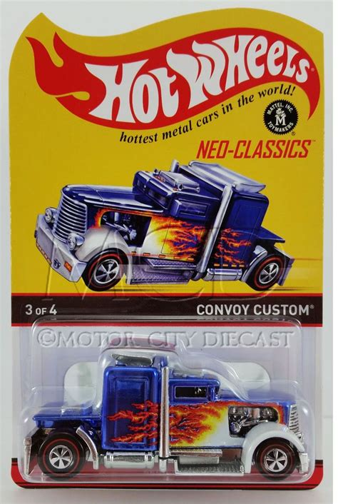 Hw Convoy Custom Hotwheels Miniatur Diecast 1 10 best images about hotwheels on redline tvs
