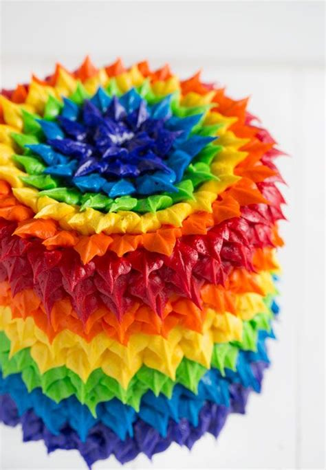 Colourfull Cake 25 best ideas about rainbow cakes on colorful