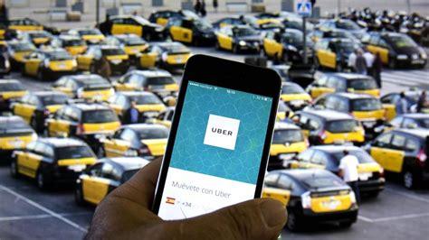 barcelona uber uber regresa hoy a barcelona con el sector del taxi en pie