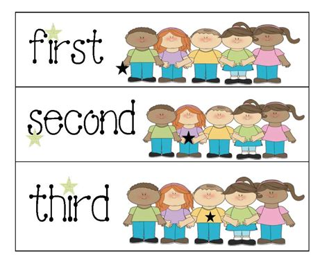 free printable ordinal number cards classroom freebies ordinal number cards