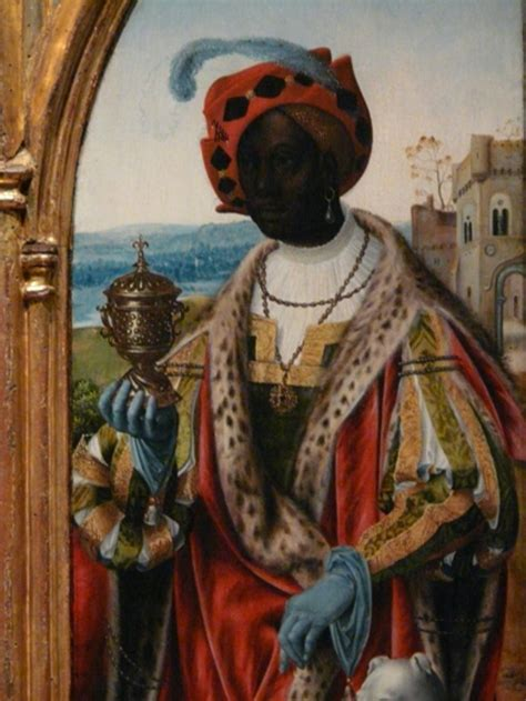 a flemish painting of the wise african king in the european renaissance photo by runoko rashidi