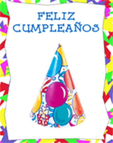 Free Printable Birthday Cards Espanol | free printable spanish greeting cards feliz cumpleaos