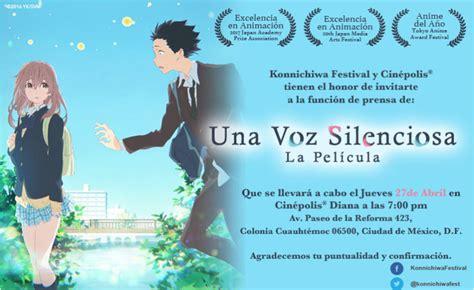 en una voz no cinepolis presenta en exclusiva la pel 237 cula japonesa koe no katachi