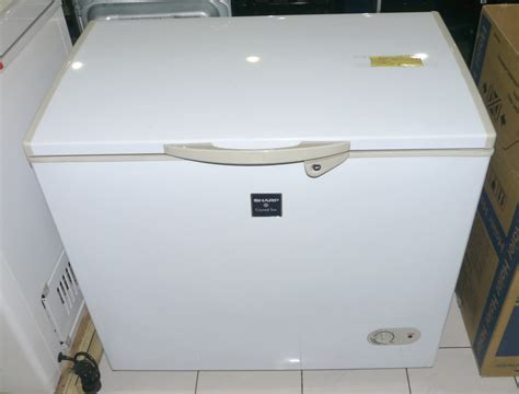 Freezer Sharp Frv 120 sharp 7 cuft chest freezer cebu appliance center