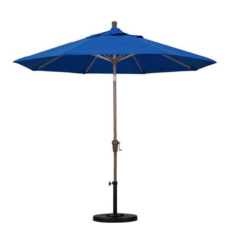 California Umbrella 9 Ft Aluminum Auto Tilt Patio 9 Patio Umbrella