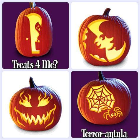 imagenes calabazas terrorificas halloween plantillas gratis para decorar calabazas de halloween