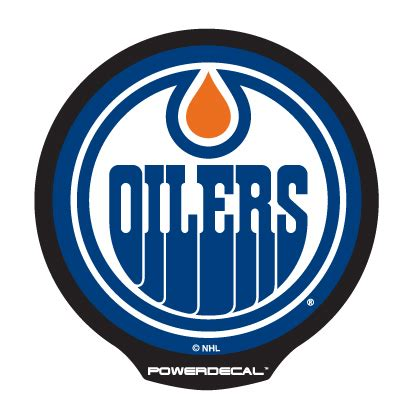 Auto Decals Edmonton by Pwr7901 Powerdecal Decal Edmonton Oilers Logo