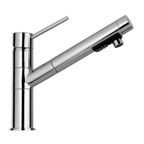 rubinetto estraibile miscelatore ottone monocomando con bocca estraibile per